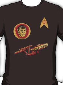 Spock Star Trek Costume from 1975 (yes, really) T-Shirt