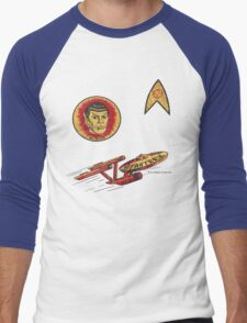 Spock Star Trek Costume from 1975 (yes, really) Men's Baseball ¾ T-Shirt