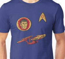 Spock Star Trek Costume from 1975 (yes, really) Unisex T-Shirt