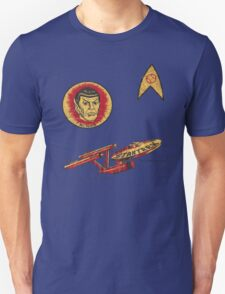 Spock Star Trek Costume from 1975 (yes, really) T-Shirt