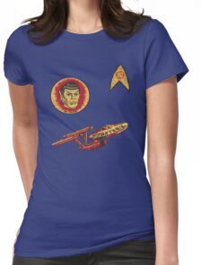 Spock Star Trek Costume from 1975 (yes, really) Womens Fitted T-Shirt