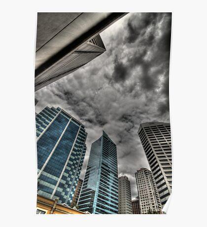 A Storm on Sydney  Poster