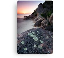 Dawn - Lighthouse Point Canvas Print