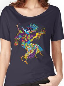 Psychedelic Plague Doctor Women's Relaxed Fit T-Shirt