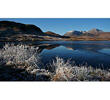 Rannoch Frosts Photographic Print