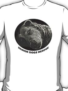 Old Dog for Seniors Rescue T-Shirt