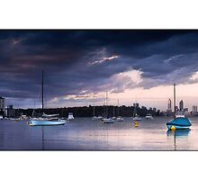 Matilda Bay Boats by Kirk  Hille