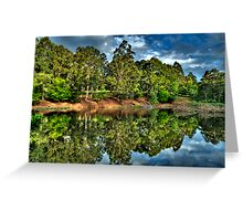 """""""Let Us Reflect"""" - Marysville - Yarra Ranges - The HDR Experience Greeting Card"""