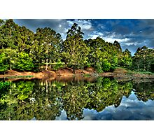 """""""Let Us Reflect"""" - Marysville - Yarra Ranges - The HDR Experience Photographic Print"""