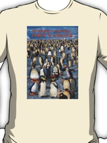 My Penguin Collection Escaped to Antarctica T-Shirt