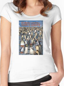 My Penguin Collection Escaped to Antarctica Women's Fitted Scoop T-Shirt