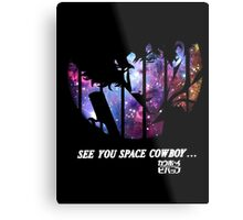 Cowboy Bebop - Nebula Metal Print