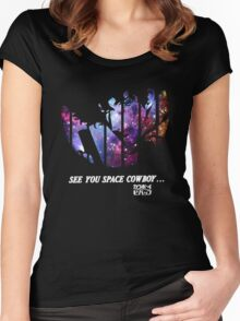 Cowboy Bebop - Nebula Women's Fitted Scoop T-Shirt