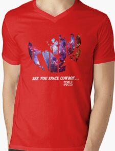 Cowboy Bebop - Nebula Mens V-Neck T-Shirt