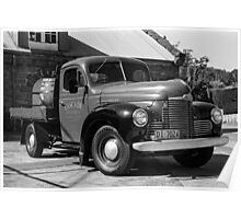Brewery Truck Poster