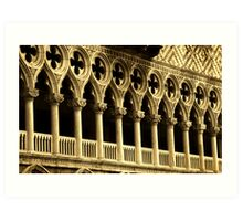 St Mark's Architecture, Venice Art Print
