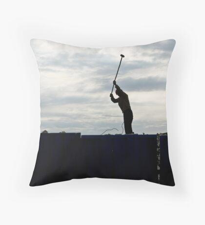 Demolition Throw Pillow