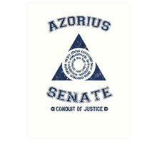 Azorius Senate Guild Art Print