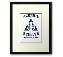 Magic the Gathering: Azorius Senate Guild Framed Print