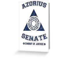Magic the Gathering: Azorius Senate Guild Greeting Card