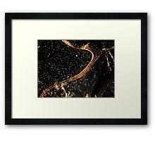 Cosmic fraction Framed Print