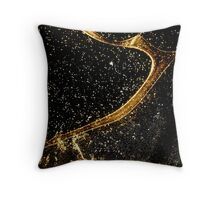 Cosmic fraction Throw Pillow