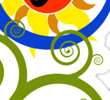 AUM : Tree of Life Sticker