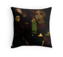 dark vision Throw Pillow