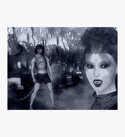 vampire queen Photographic Print