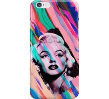 Marilyn Monroe Rainbow Paintbrush iPhone Case/Skin