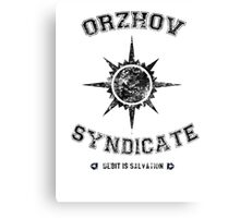 Orzhov Syndicate Guild Canvas Print