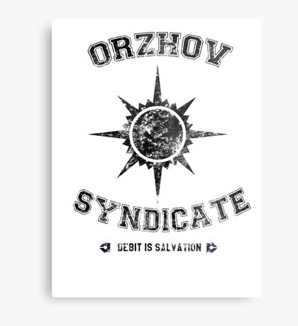 Orzhov Syndicate Guild Metal Print