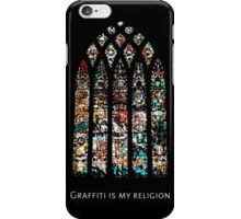 graffiti is my religion iPhone Case/Skin