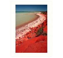 """""""Desert, meet Ocean..."""" Monkey Mia, Western Australia Art Print"""