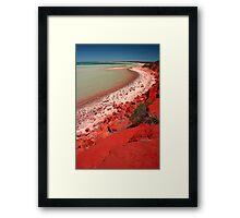"""Desert, meet Ocean..."" Monkey Mia, Western Australia Framed Print"