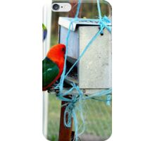 Dropping in for a bite! iPhone Case/Skin