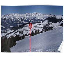 Soll Ski Resort Austria Poster