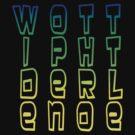 Sir Rainbow Text Tetris by WOTinc