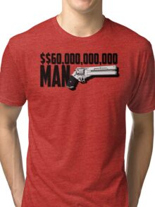 Trigun $$60000000000 Man Tri-blend T-Shirt