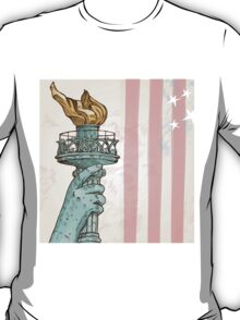 statue of liberty with torch T-Shirt