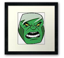 HulkTheIncredible Framed Print