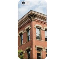 Old Brick Building and Sky iPhone Case/Skin