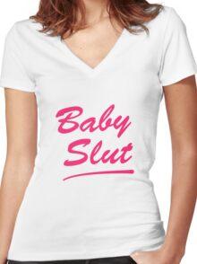 Baby Slut Titus Andromedon- UnBreakable  Women's Fitted V-Neck T-Shirt