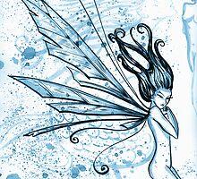 Blue Fairy.  by Courtney Thomas