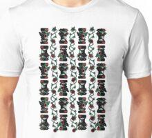 Tiki Happy Tiki Angry Unisex T-Shirt