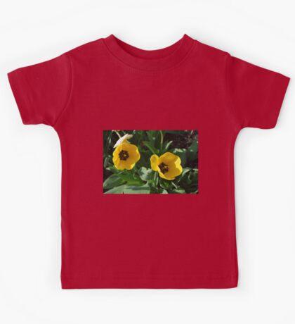 Yellow Tulips Kids Tee