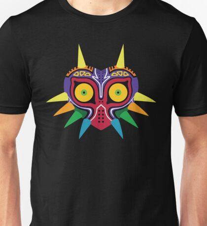 Majora's Mask (flat) Unisex T-Shirt