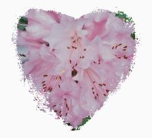 Spring - Pink Flower II - Heart Kids Clothes