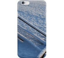 Snowy Fence iPhone Case/Skin