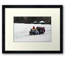 Thumbs-Up! Framed Print